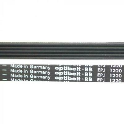 Ремень для стиральной машины 1220 J5 1165 мм, чёрный J423