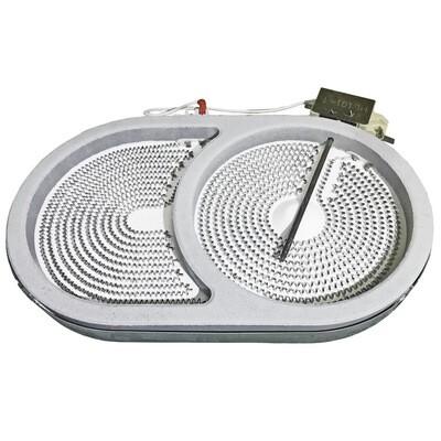 Электроконфорка для стеклокерамических плит D170x265 мм 1800вт