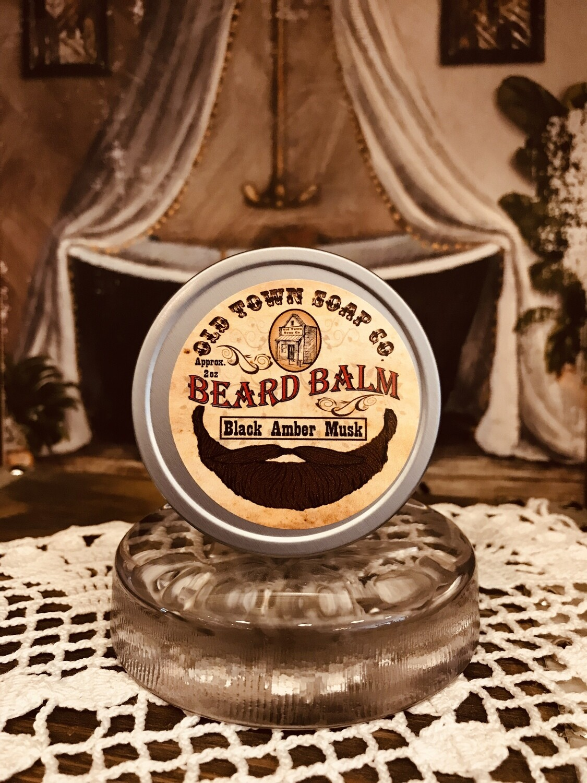 Black Amber Musk -Beard Balm