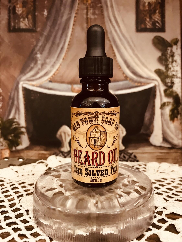 The Silver Fox -Beard Oil