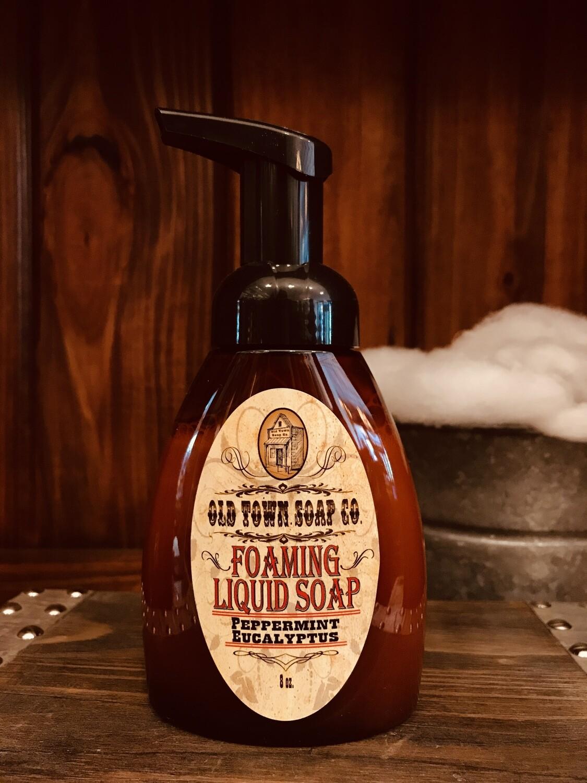 Peppermint Eucalyptus -Pump Liquid Soap