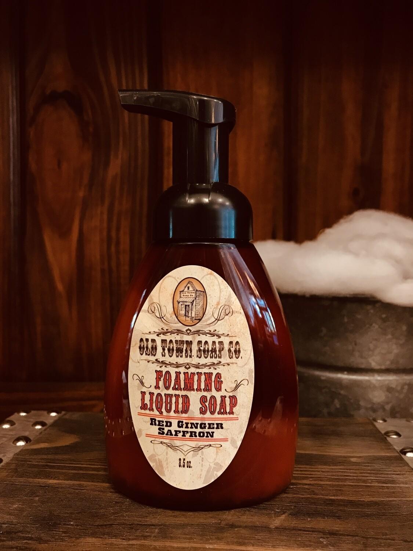 Red Ginger Saffron -Pump Liquid Soap