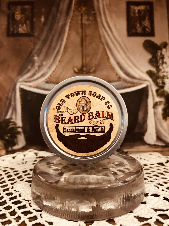 Sandalwood & Vanilla -Beard Balm