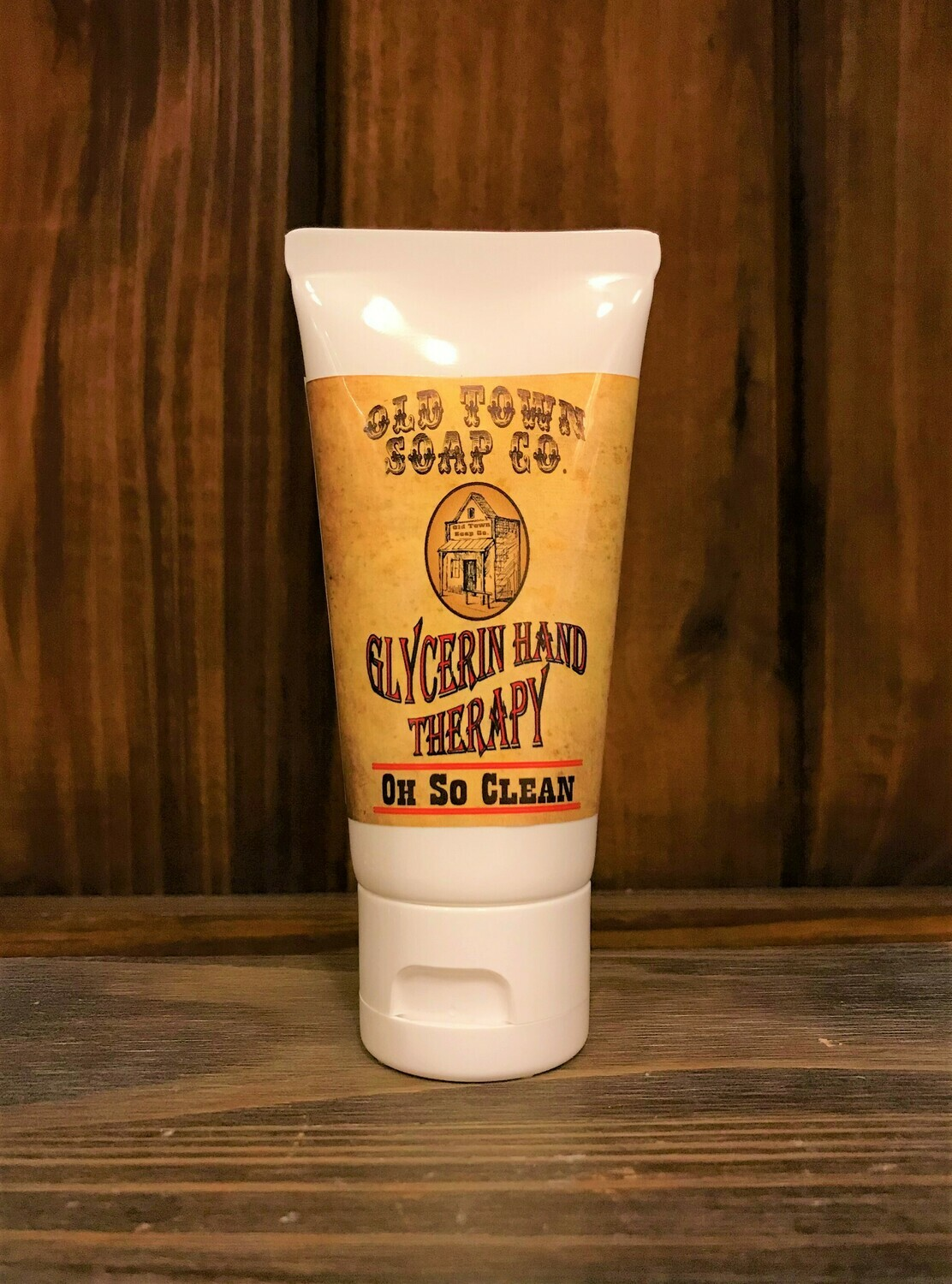 Oh So Clean -2 oz Tube Hand Therapy