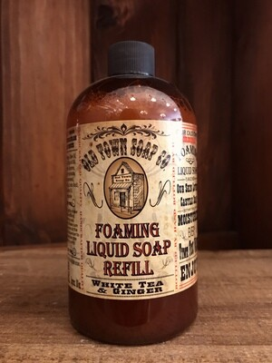 White Tea & Ginger -Refill Liquid Soap