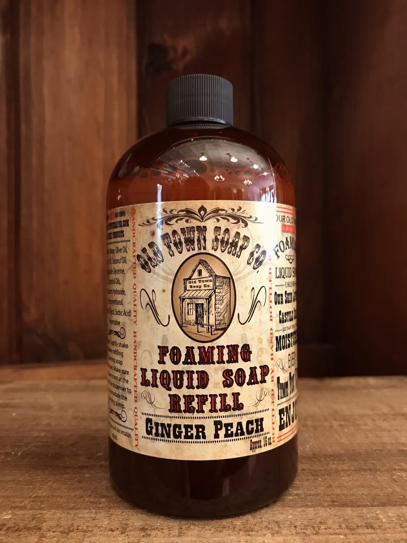 Ginger Peach -Refill Liquid Soap