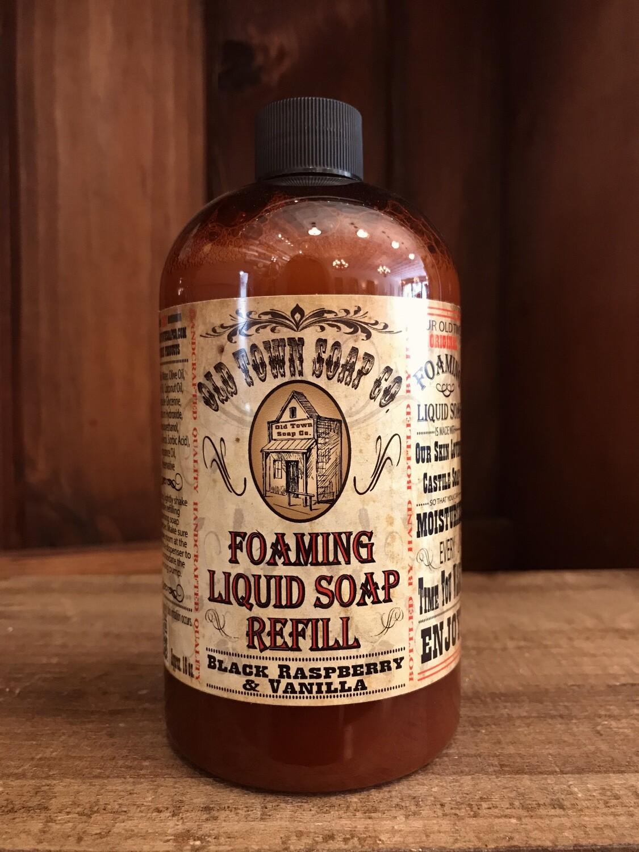 Black Raspberry & Vanilla -Refill Liquid Soap