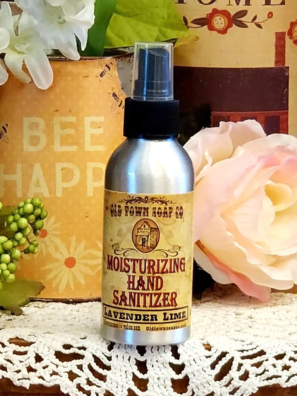 Lavender Lime 4oz Hand Sanitizer