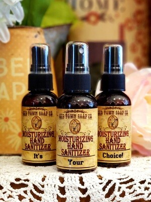 Your Choice Hand Sanitizer Scent 2oz $4.99