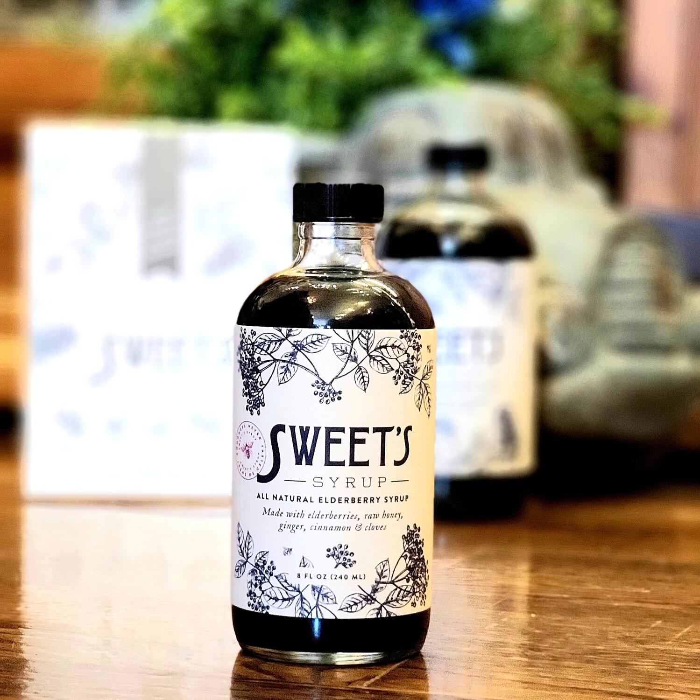 Small Elderberry Syrup 8Oz