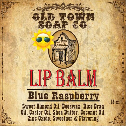 Blue Raspberry -Lip Balm