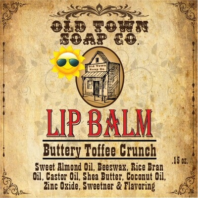 Buttery Toffee Crunch -Lip Balm