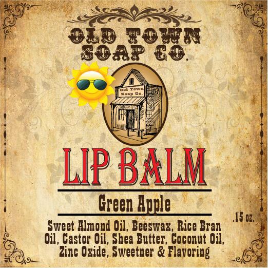Green Apple -Lip Balm