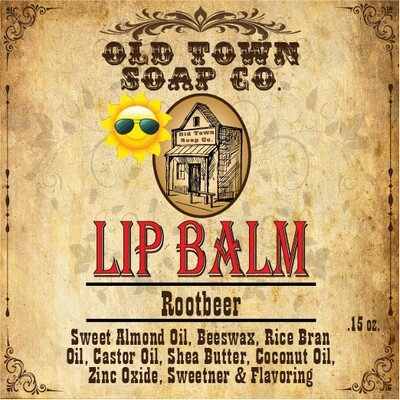 Rootbeer -Lip Balm