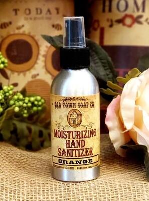 Orange 4oz Hand Sanitizer