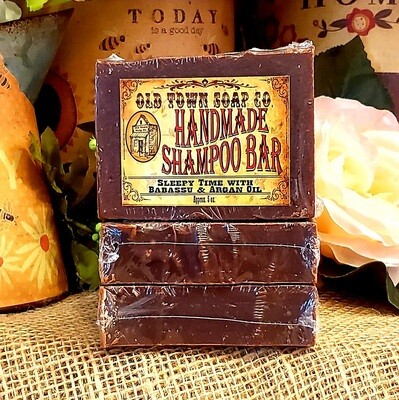 Sleepy Time Babassu & Argan -Shampoo Bar