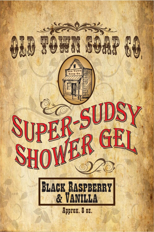 Black Raspberry & Vanilla -Shower Gel