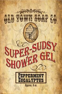 Peppermint Eucalyptus -Shower Gel