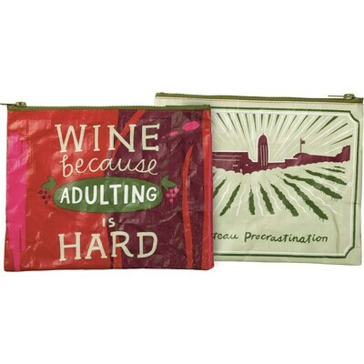 Adulting Hard #104497 -Zipper Pouch