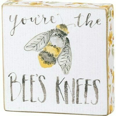 Block Sign #133242 -Bee's Knees
