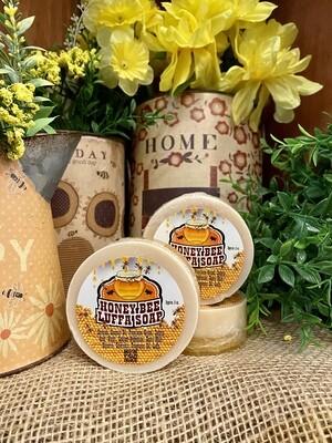 Honey Bee -Luffa Soap