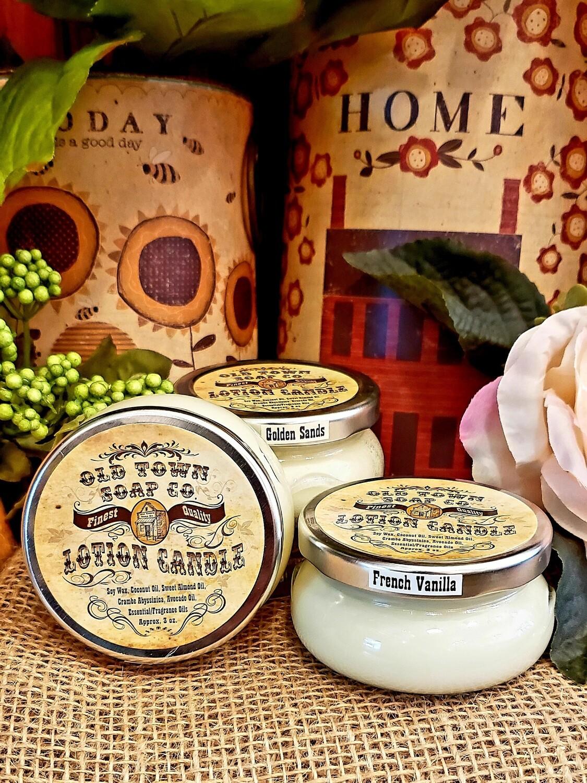 White Gardenia -Lotion Candles