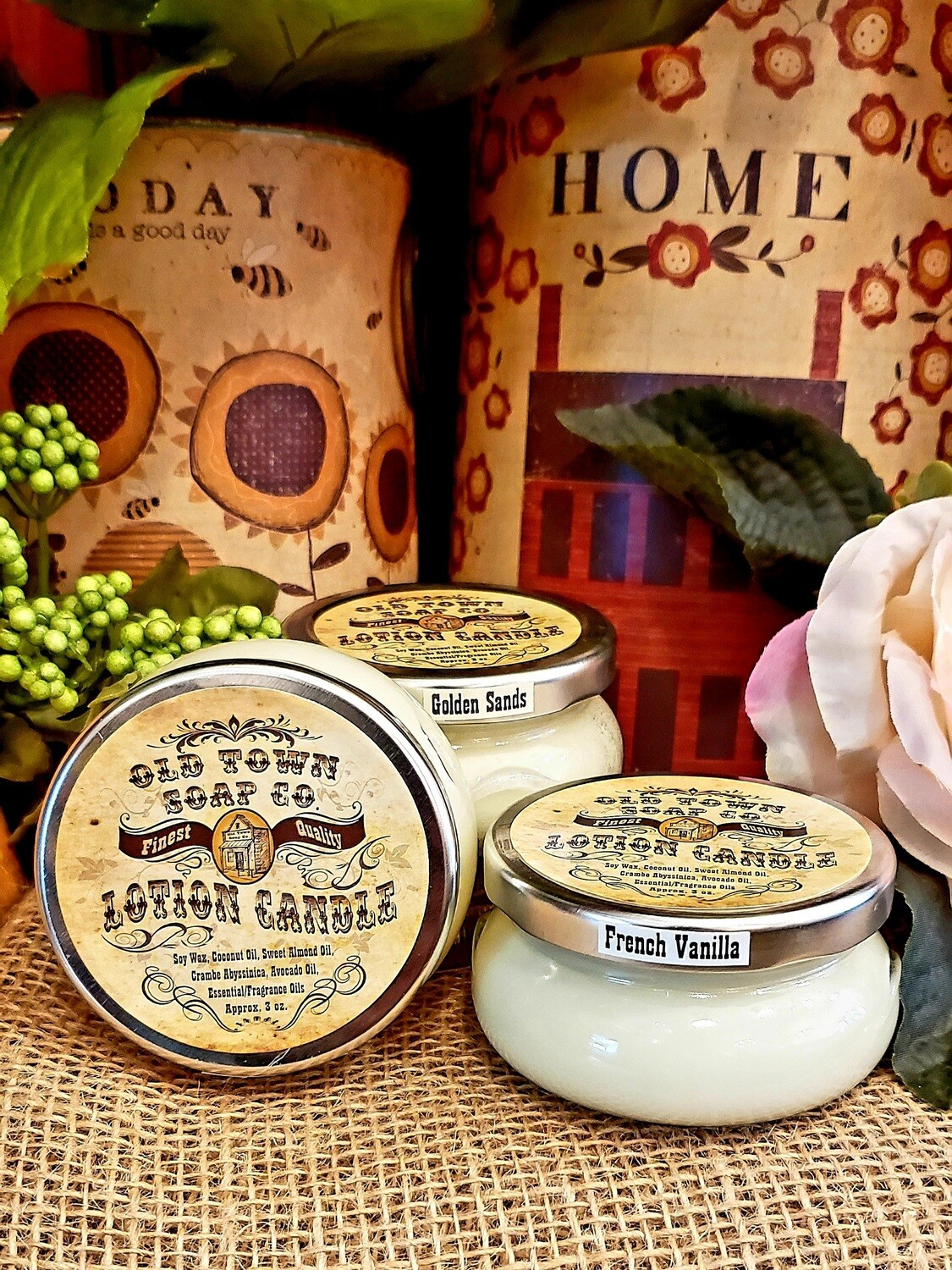 Spiced Cranberry -Lotion Candles