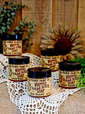The Perfect Man -Whipped Sugar Scrub Soap