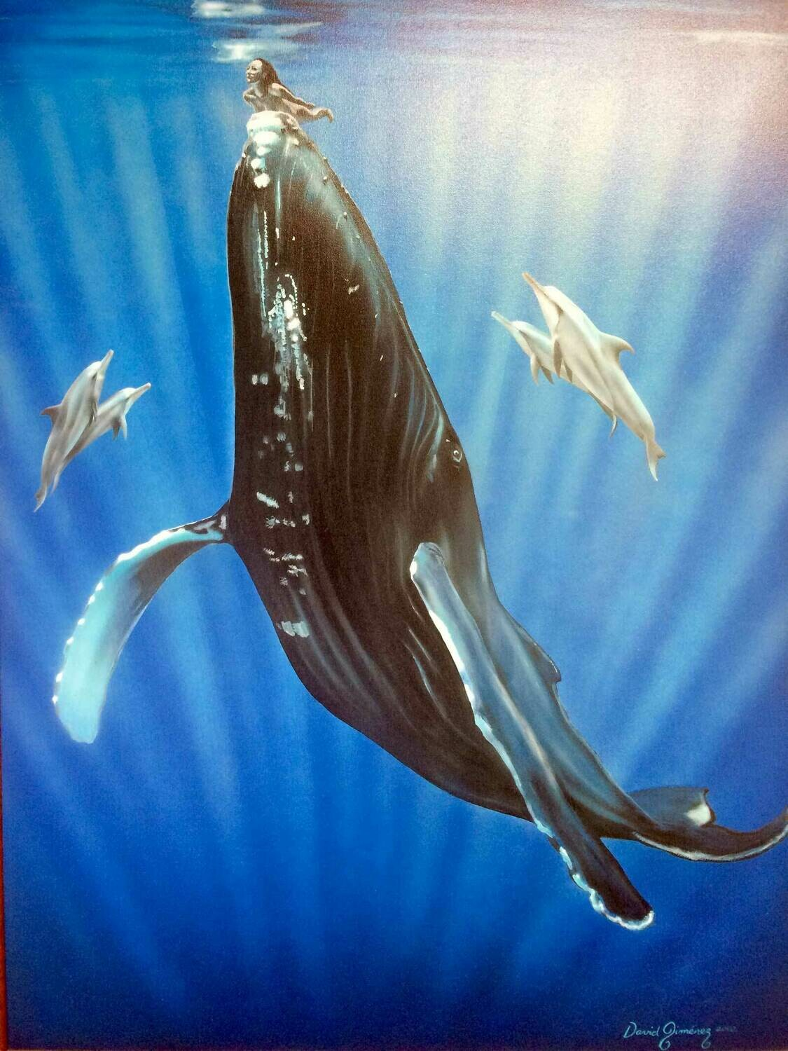 Poster: Whale Love