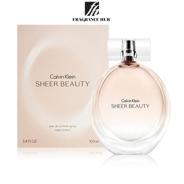 [Original] Calvin Klein cK Sheer Beauty EDP Lady 100ml