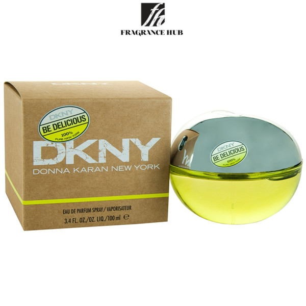 [Original] DKNY Be Delicious Green Apple EDP Lady 100ml