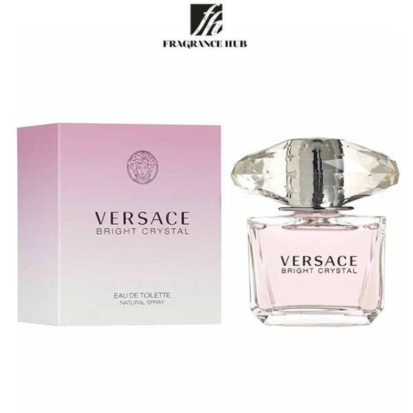 [Original] Versace Bright Crystal EDT Lady 90ml