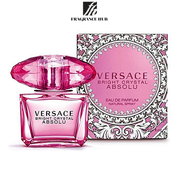 [Original] Versace Bright Crystal Absolu EDP Lady 90ml