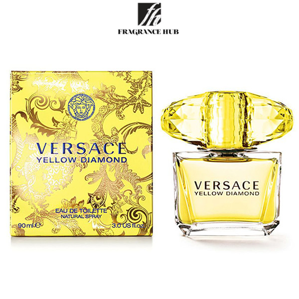 [Original] Versace Yellow Diamond EDT Lady 90ml