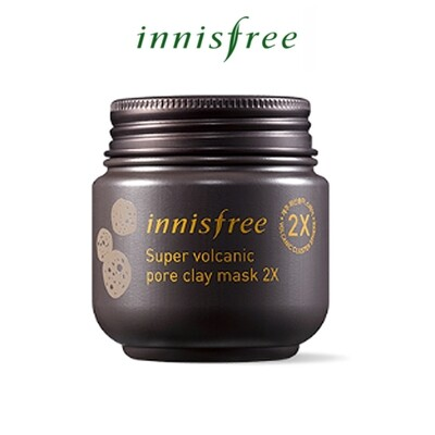 Innisfree - Super Volcanic Pore Clay Mask 2X (Expiry in 2022)