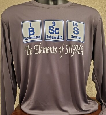 The Elements of Sigma (Dri-Fit) - Long Sleeve
