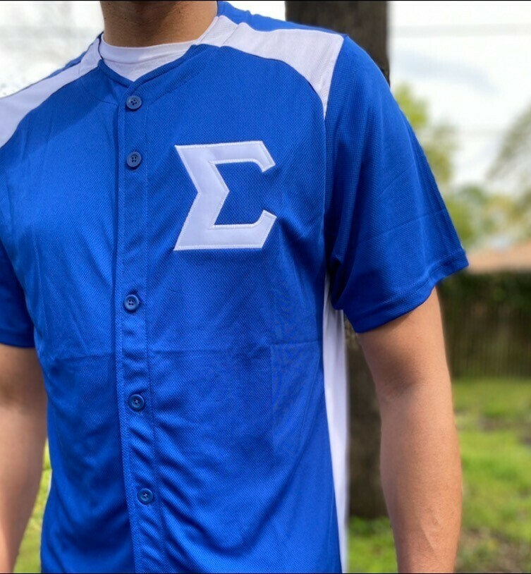 Phi Beta Sigma Baseball Jersey