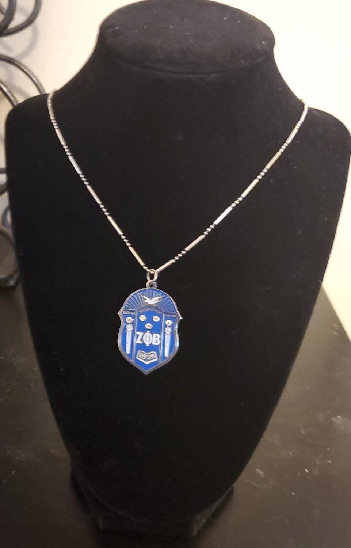 Zeta Phi Beta Pendant