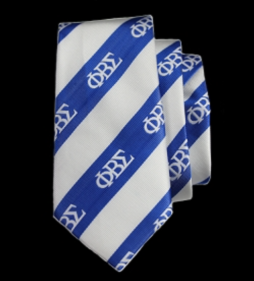 Phi Beta Sigma Neck tie