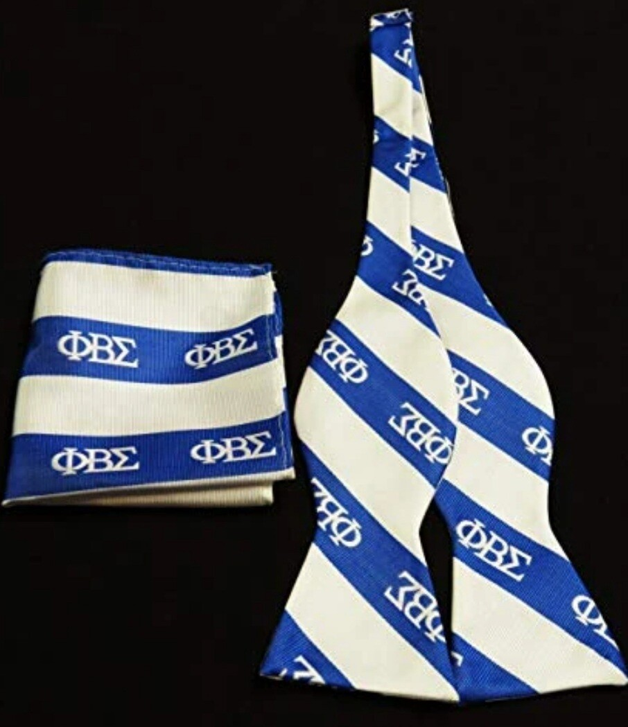 Phi Beta Sigma Bow tie Set
