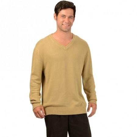 Men's V Neck Sweater