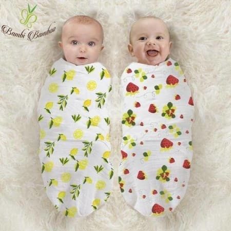 Bamboo Muslin Swaddle Blanket