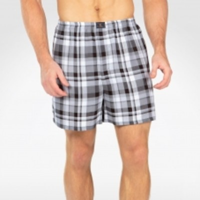 Men's Bamboo Plaid Boxers