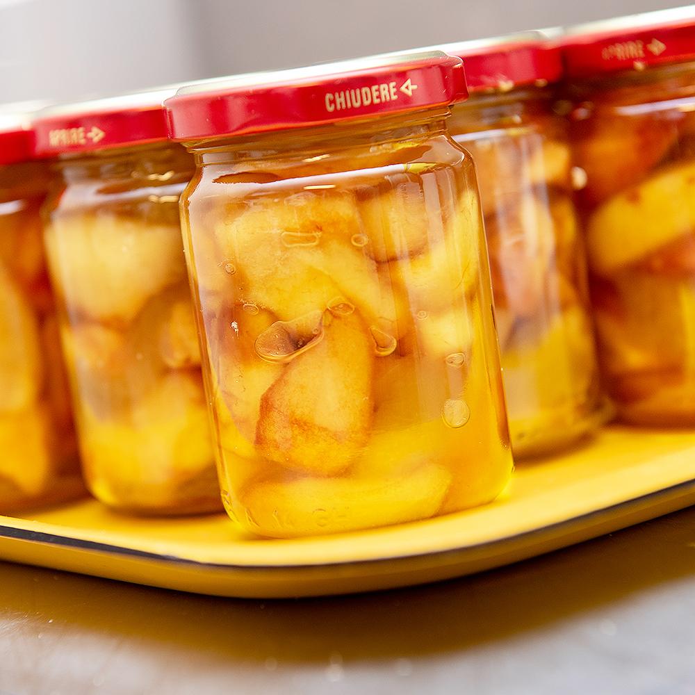 Mostarda di Frutti Antichi (Pere Nobili, Cocomero Bianco, Mele Campanine)