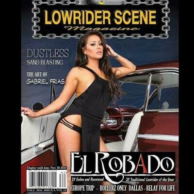 Lowrider Scene Magazine - Volume 14