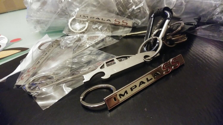 64 Lid Emblem Keychain
