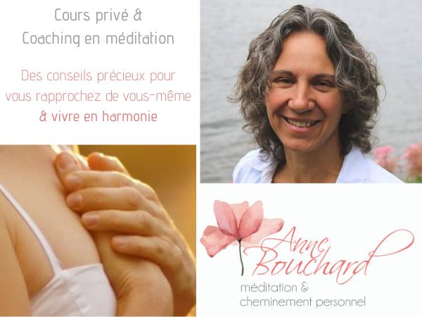 Cours privé de méditation et coaching en ligne