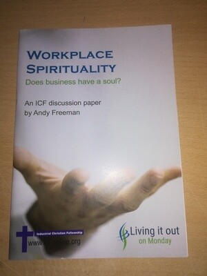 Workplace Spirituality  - Andy Freeman