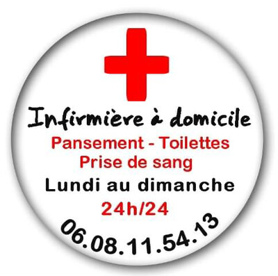 Badge infirmière