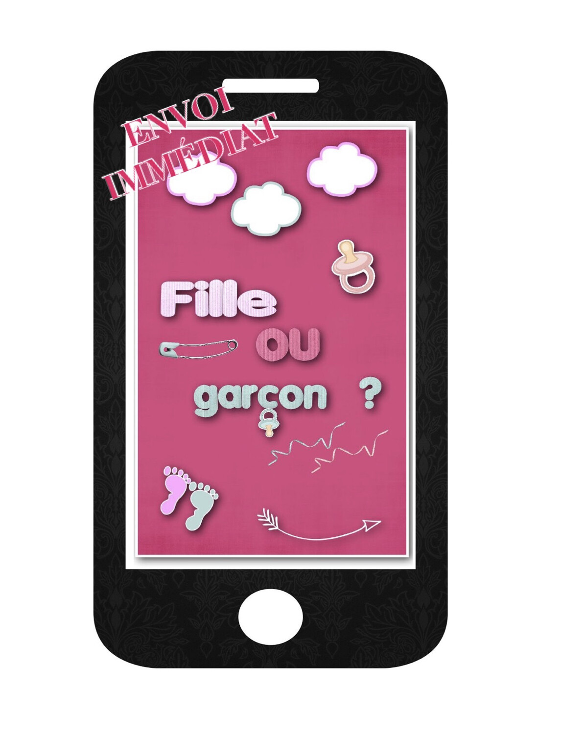 Annonce grossesse fille